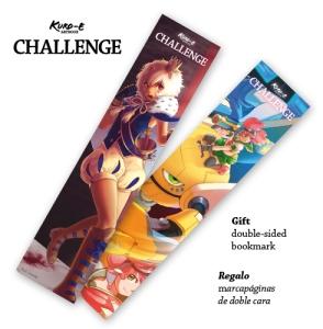 Kuro-e Challenge - bookmarks